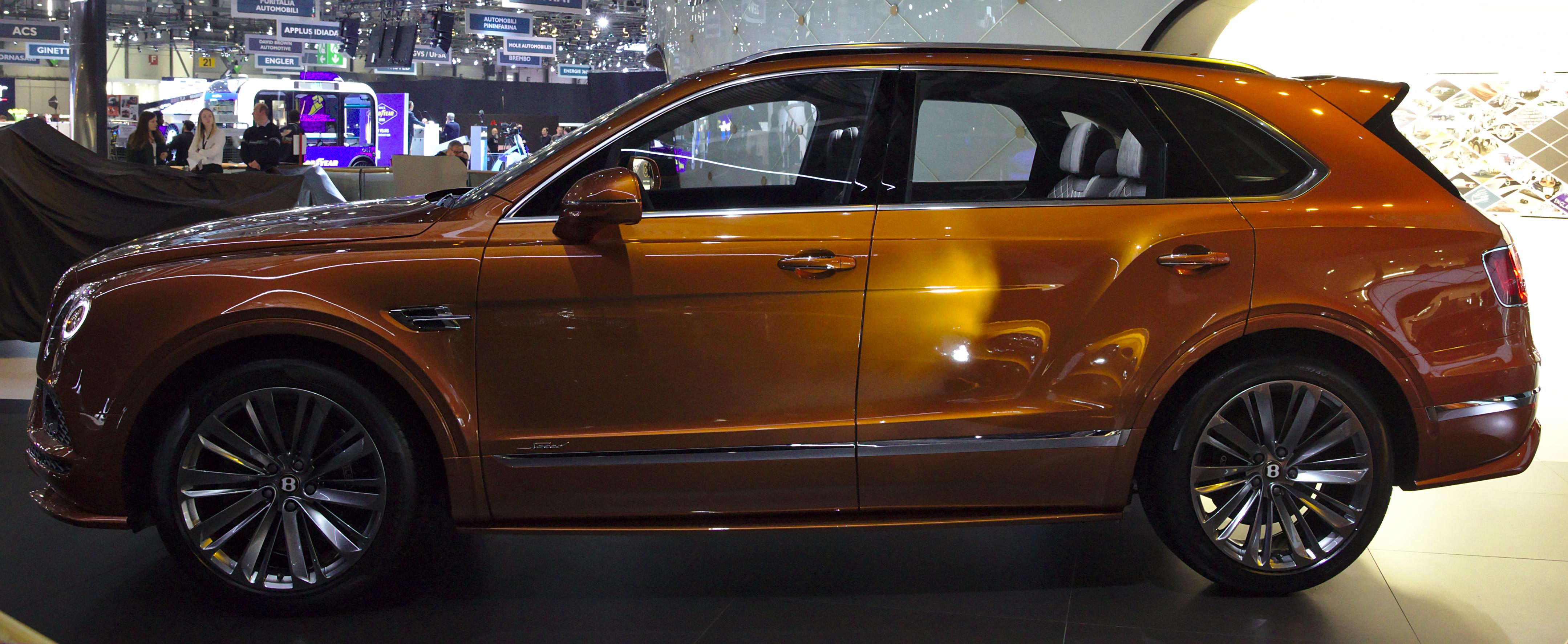 File Bentley Bentayga Speed Genf 2019 1y7a5018 Jpg