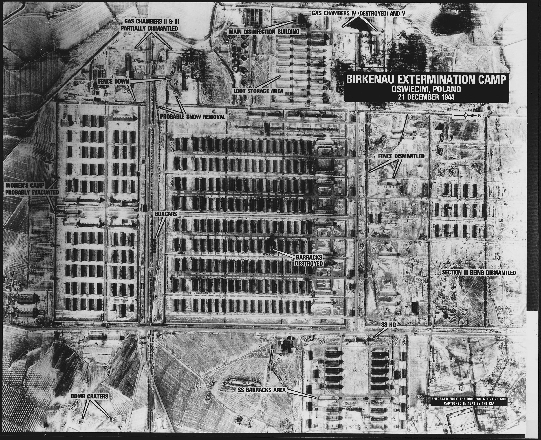 File Birkenau Extermination Camp Oswiecim Poland Nara
