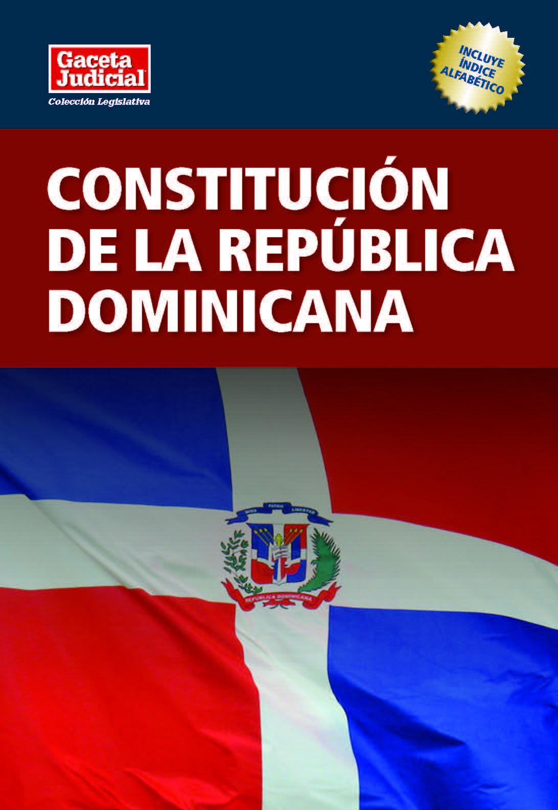 Constitución De La República Dominicana Wikipedia La