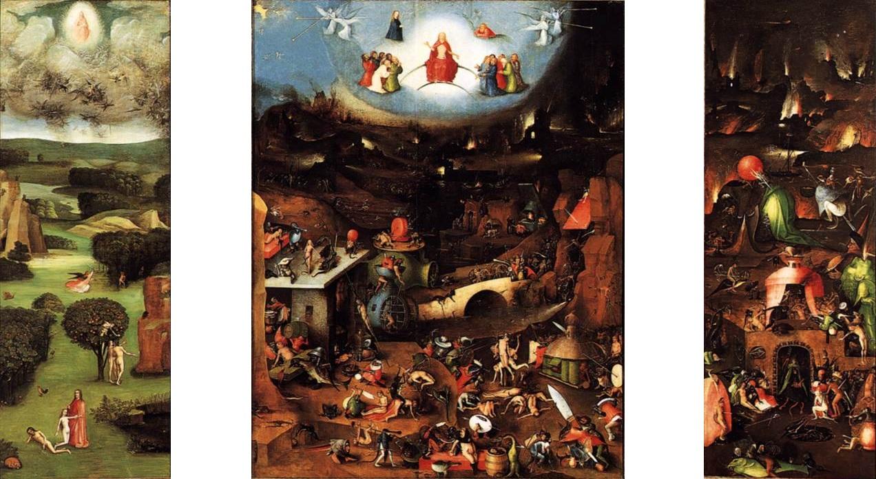 File:Bosch laatste oordeel drieluik wenen.jpg - Wikimedia Commons