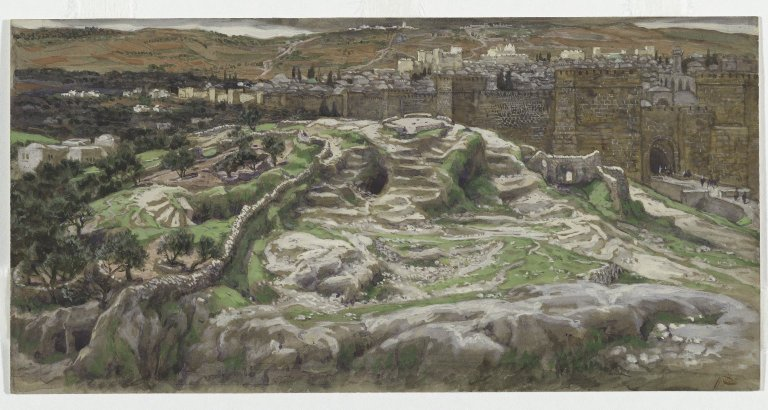 File:Brooklyn Museum - Reconstruction of Golgotha and the