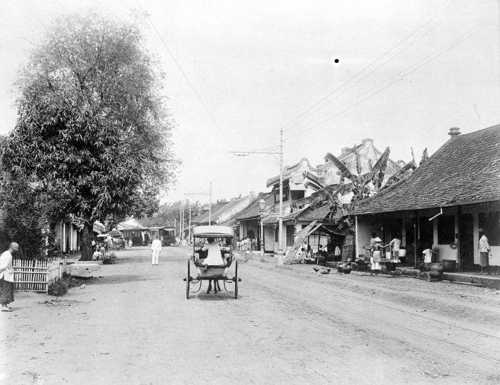 COLLECTIE TROPENMUSEUM Batavia Pasar Tanah Abang TMnr 10014914 Menengok Pesona Kota Jakarta Tahun 1970 an