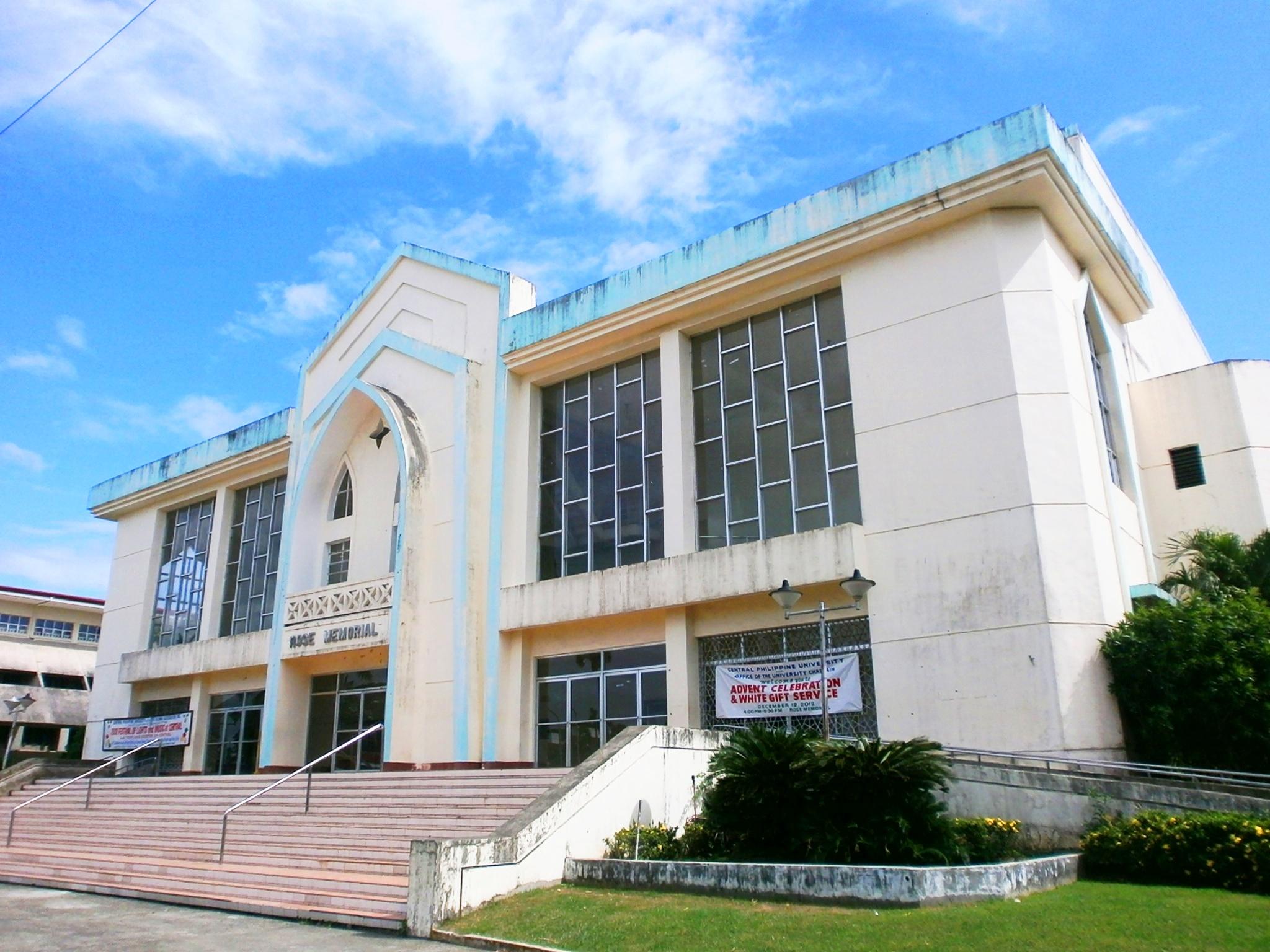 CPURose Memorial Hall JPG