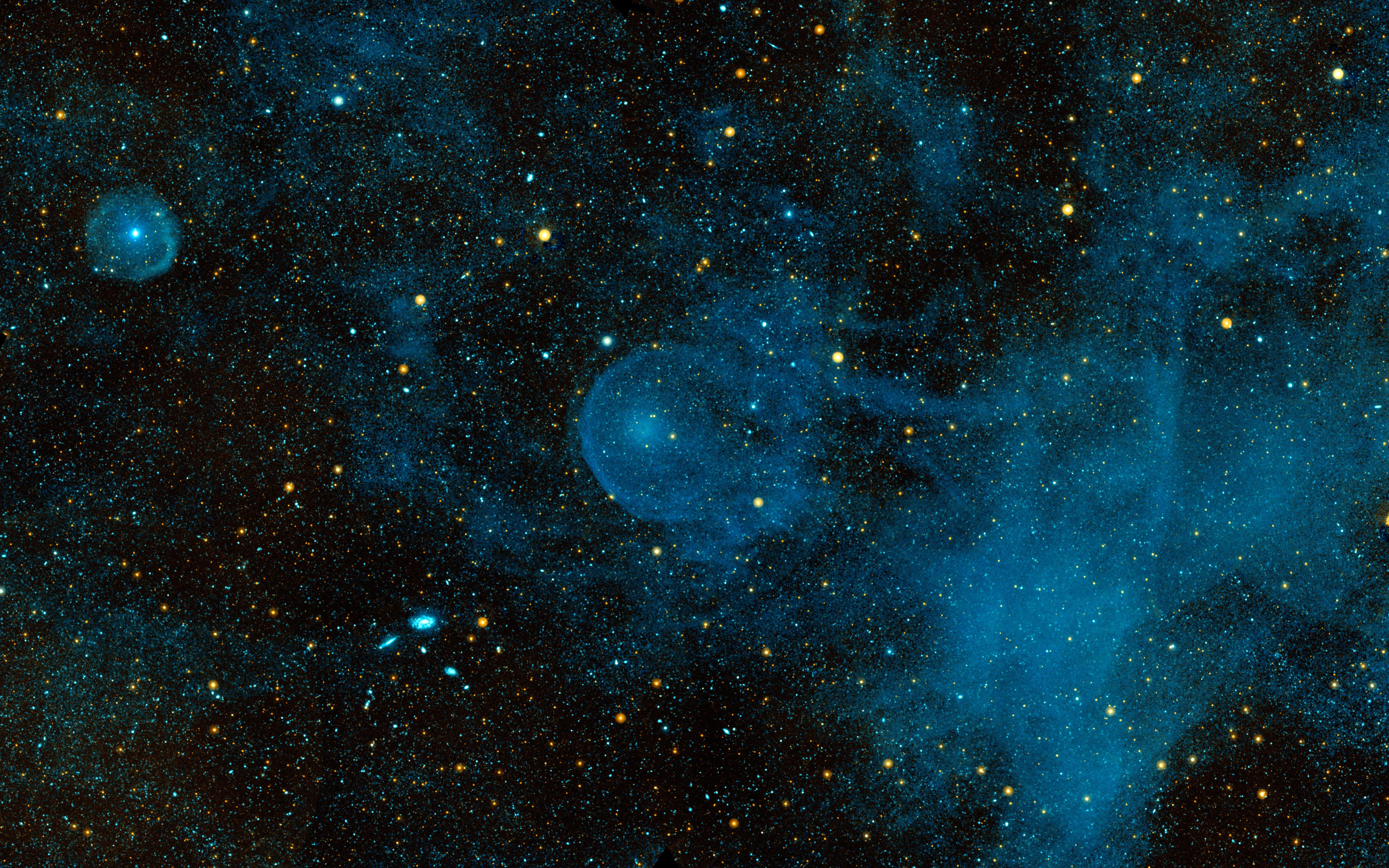 nasa finds blue star - HD8000×5000