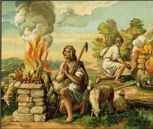 Sacrifice of Cain and Abel