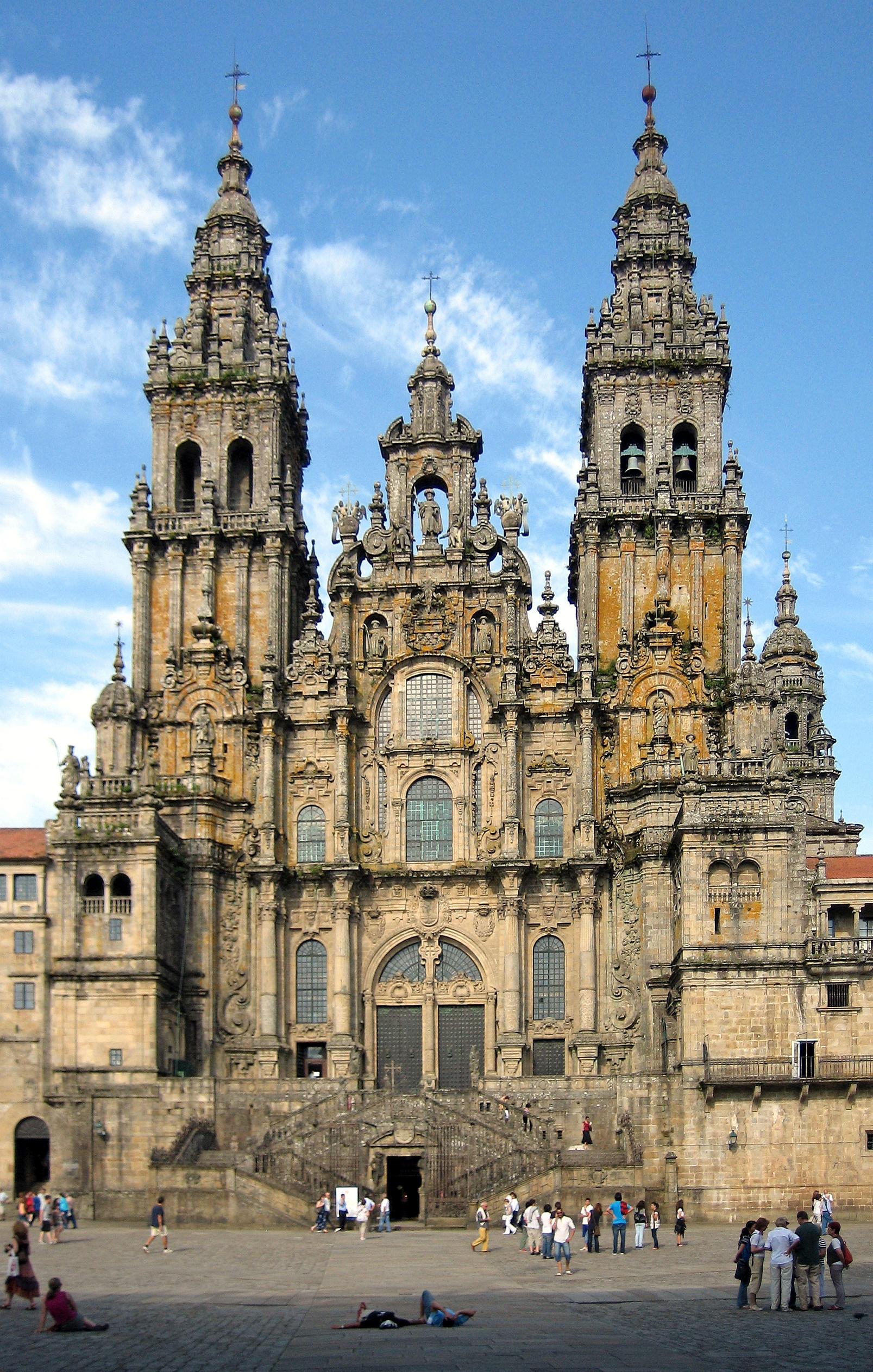 Kathedrale von santiago de compostela wikipedia - Intiriror picture ...