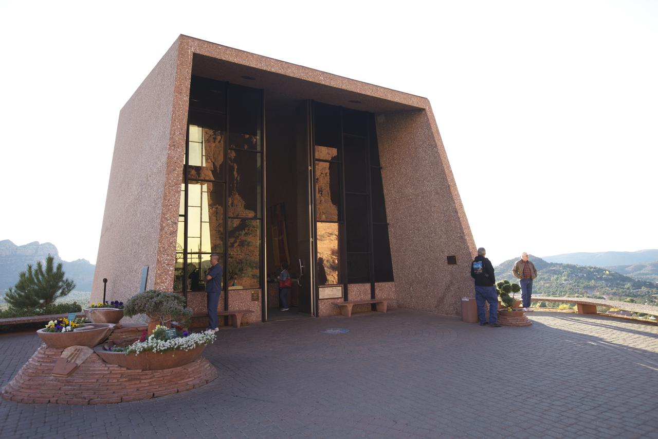 File:Chapel Of The Holy Cross, Sedona, Arizona, United States Idea