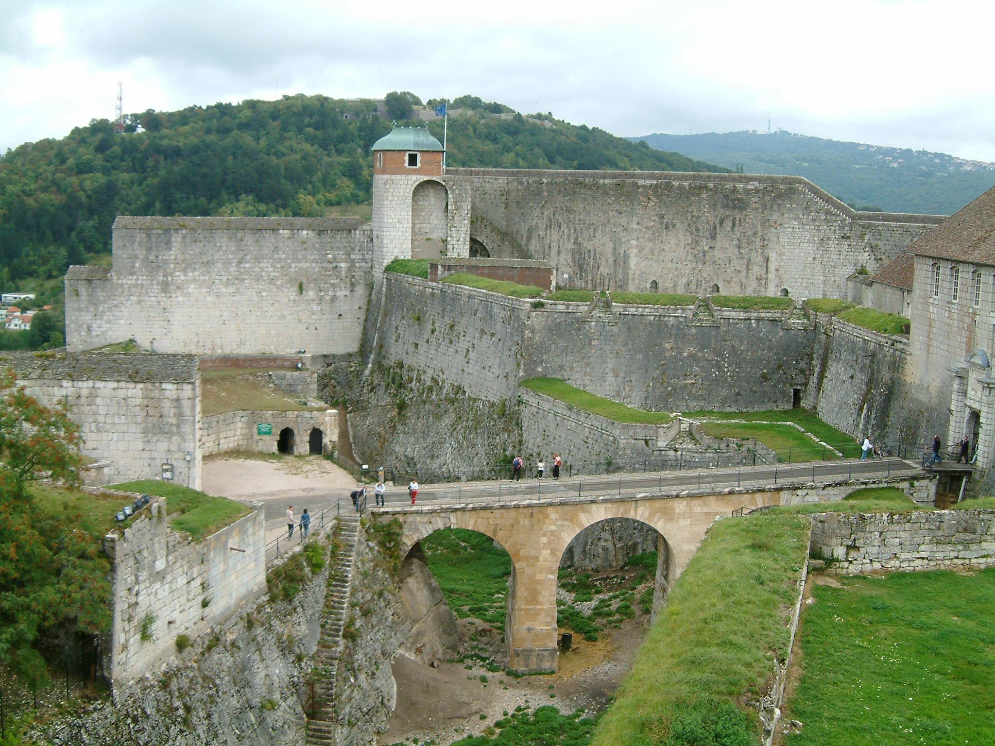 The Citadel of Besançon by Vauban