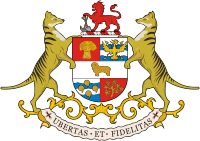 alt=Description de l'image Coat  of arms of Tasmania.png.