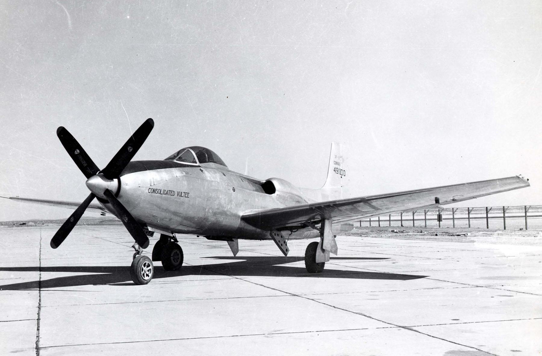 File Convair Xp-81 Front View Jpg