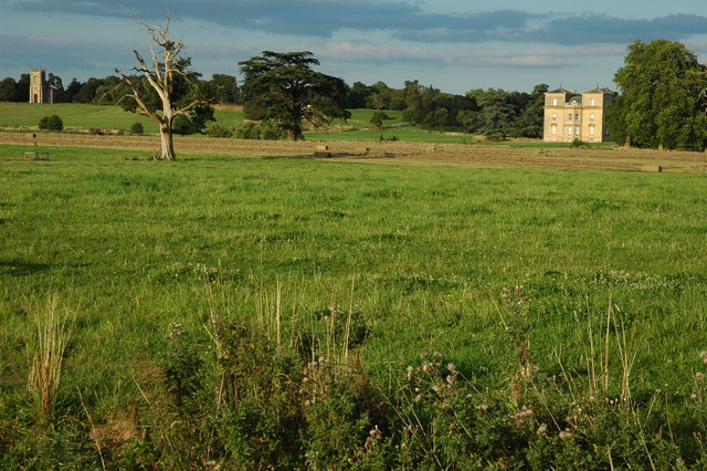 Croome D'Abitot church and Croome Court - geograph.org.uk - 1451210