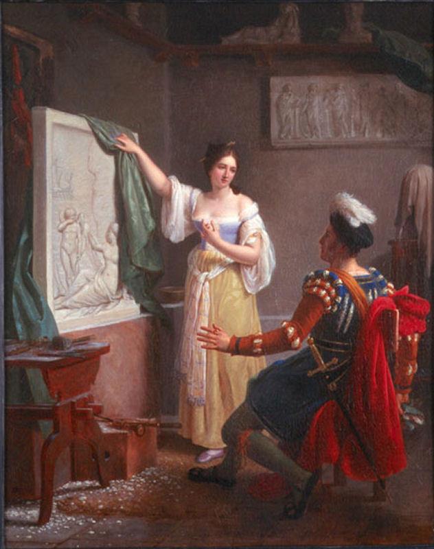 Painting Of Her Sisters Rensaincsee Artist