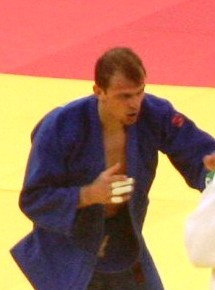 Denis Iartsev (RUS) at the bronze final of the 2015 European Games.jpg