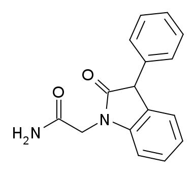 File:Doliracetam structure.png