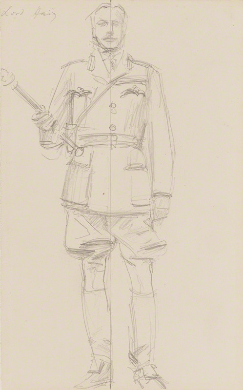was earl douglas haig the butcher of the somme essay Free essay: haig's reputation as the butcher of the somme in the run up to the war, field marshal sir douglas haig was appointed the director of military.