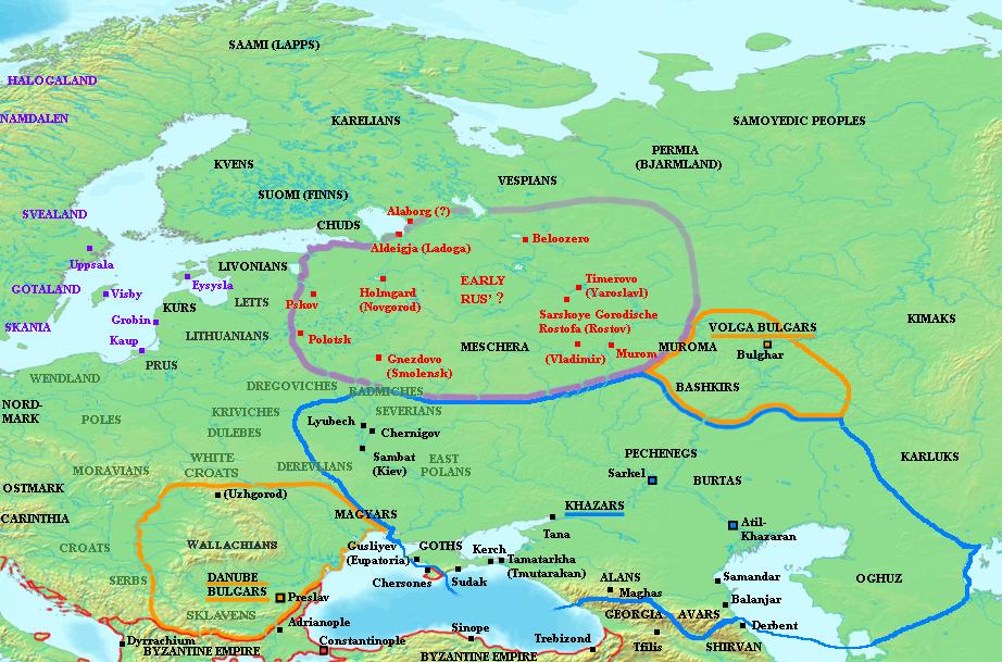 Kiev in the past, History of Kiev