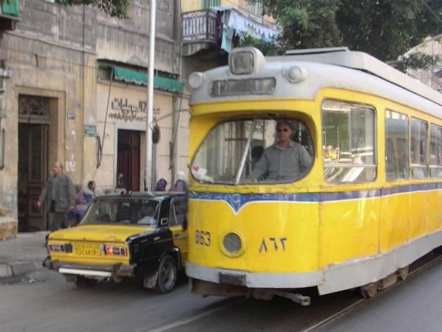 صور الترام - الجديد لمدينة الرباط - كنت هعيط لما افتكرت صور ترام القاهرة :(
