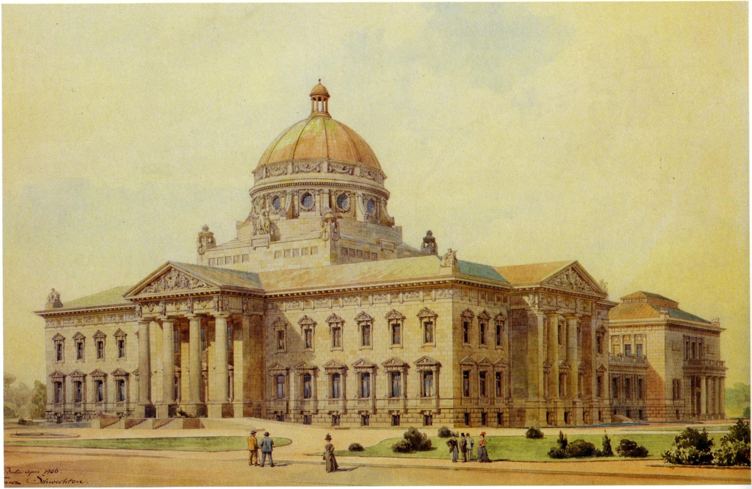 File f schwechten competition design for the peace palace Palace design