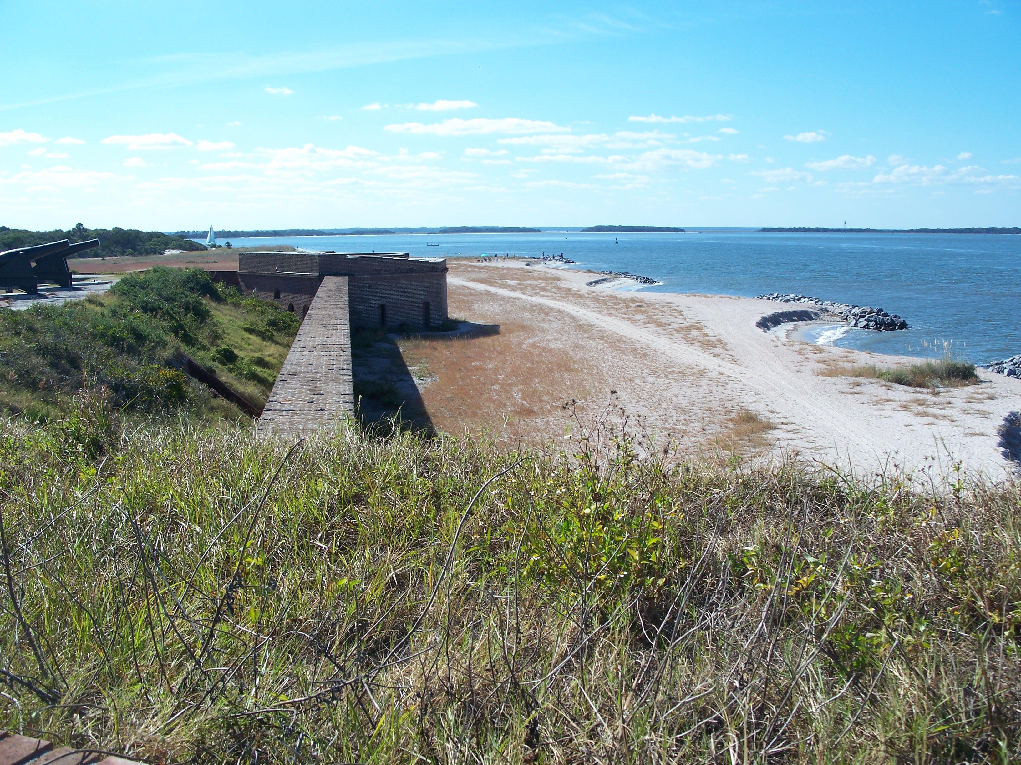 File fernandina beach fl fort clinch for Island beach state park fishing report