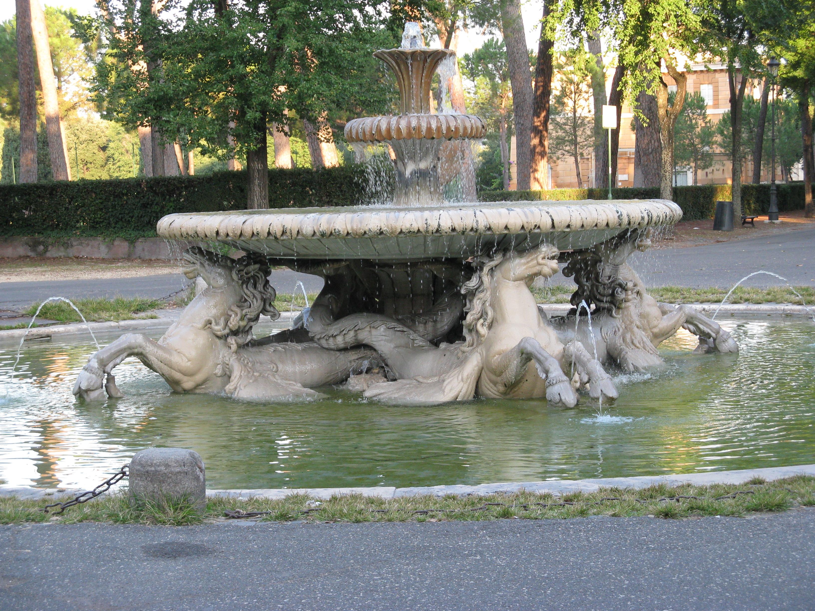 Fontane Di Villa Borghese