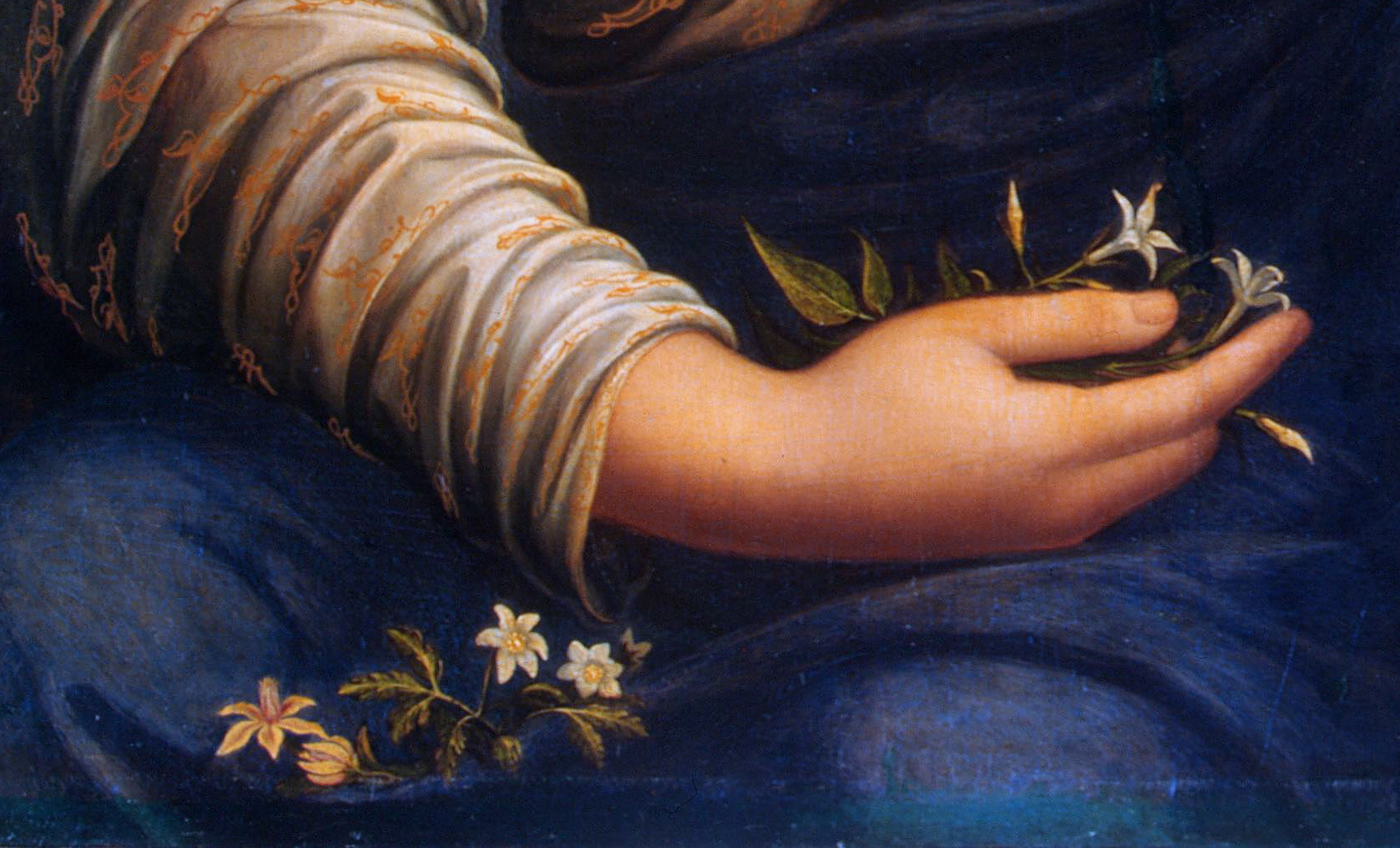 Картина флора франческо мельци