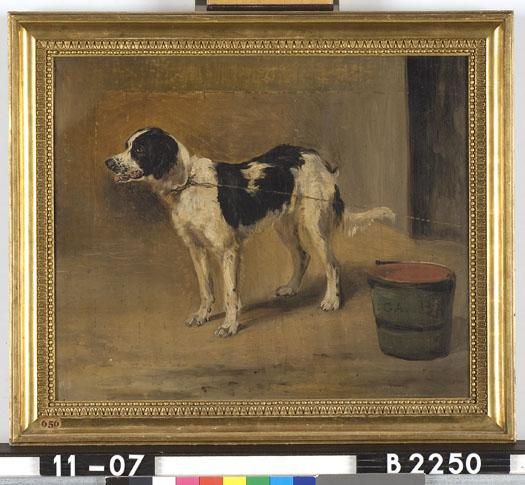 Super File:G.A. van der Brugghen - Een hond aan de ketting - B2250 VF-52