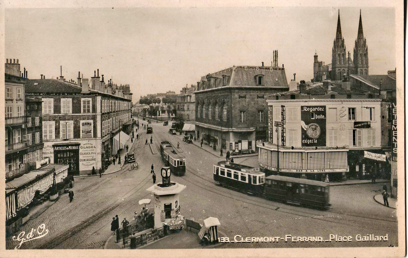 ancien tramway de clermont ferrand wikip dia. Black Bedroom Furniture Sets. Home Design Ideas