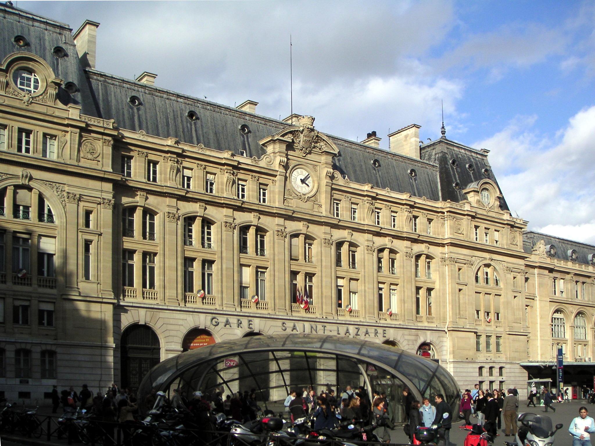 gare saint-lazare - l'histoire