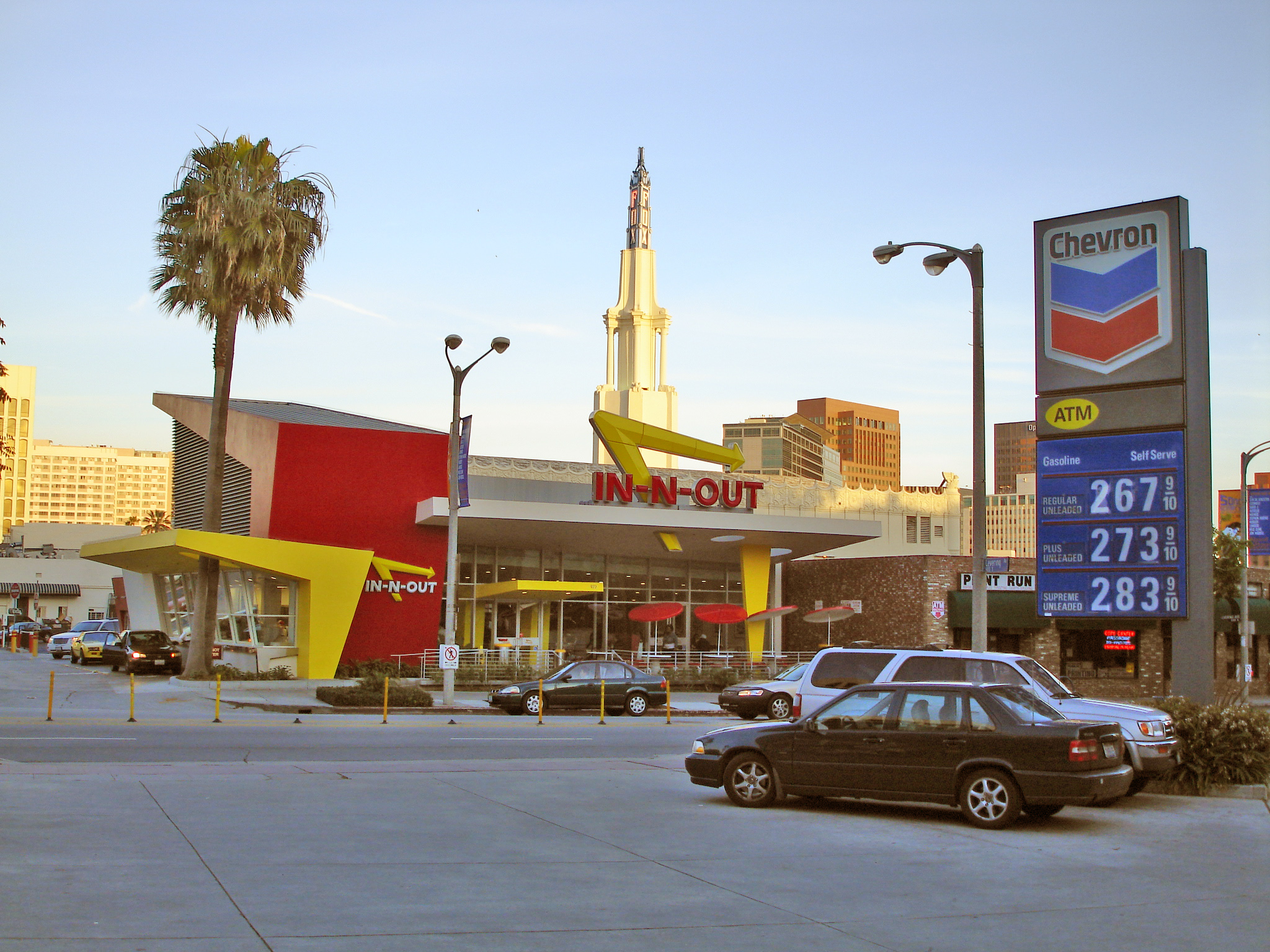 Fast Food Burger Places In Los Angeles