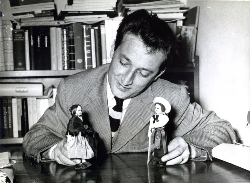 Rodari in the 1950s