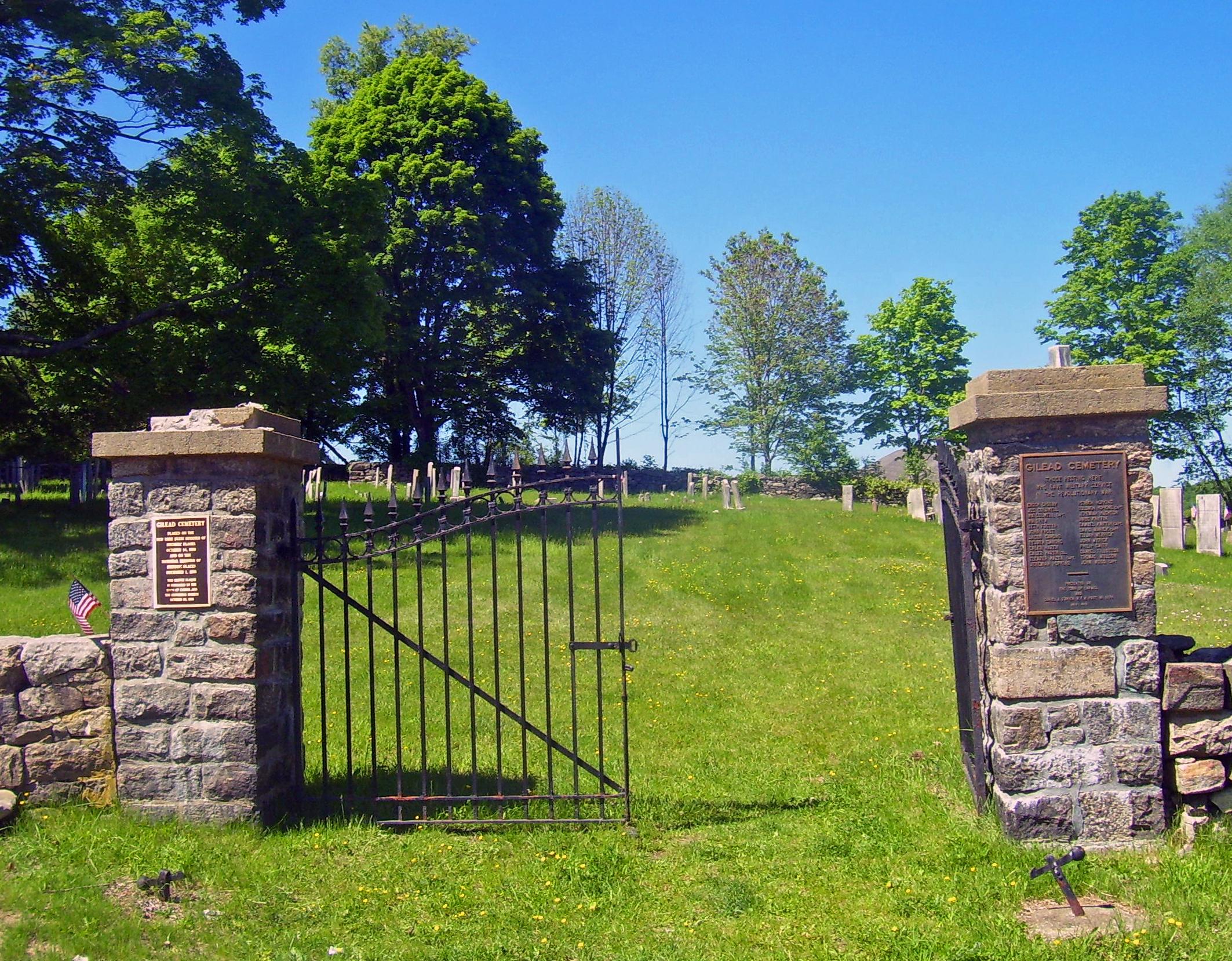Gilead Cemetery Carmel Hamlet Roadtrippers