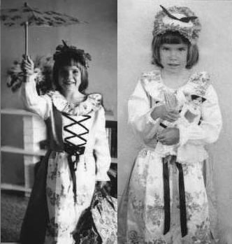 "English: Child dressed in ""Mary Poppins&q..."