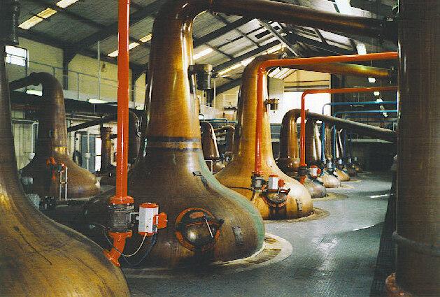 File:Glenfiddich Distillery stills.jpg