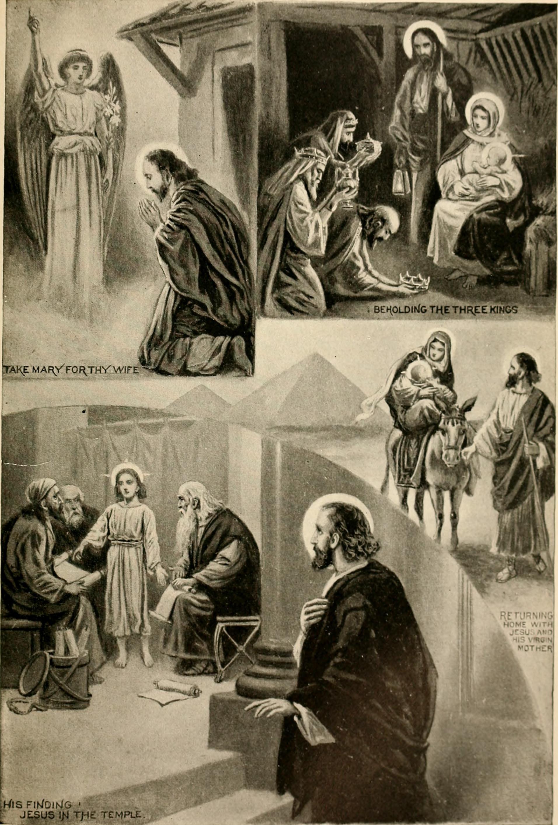 Five Glories of the Catholic Faith (source: WIkimedia)