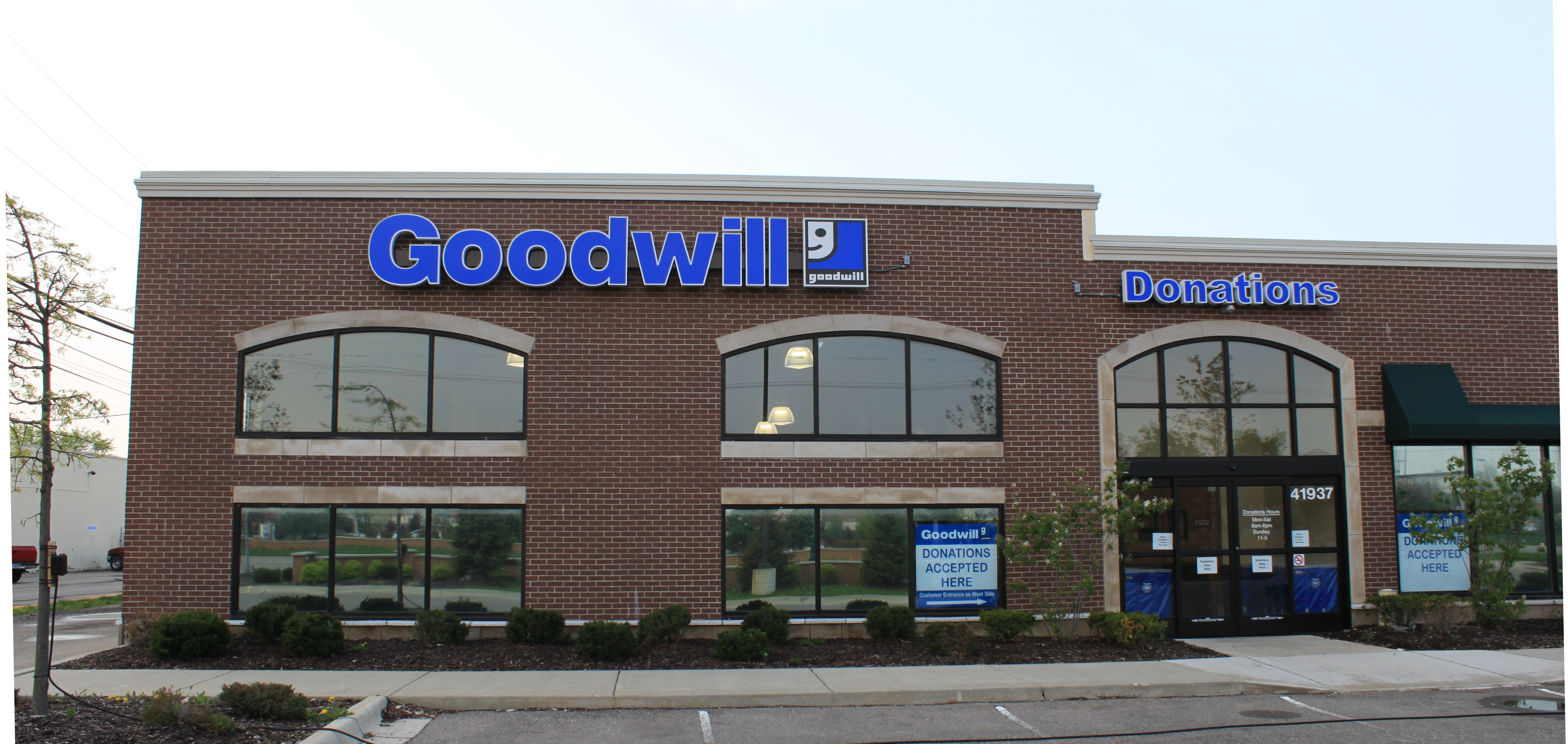 English: Goodwill Industries thrift shop, 4193...