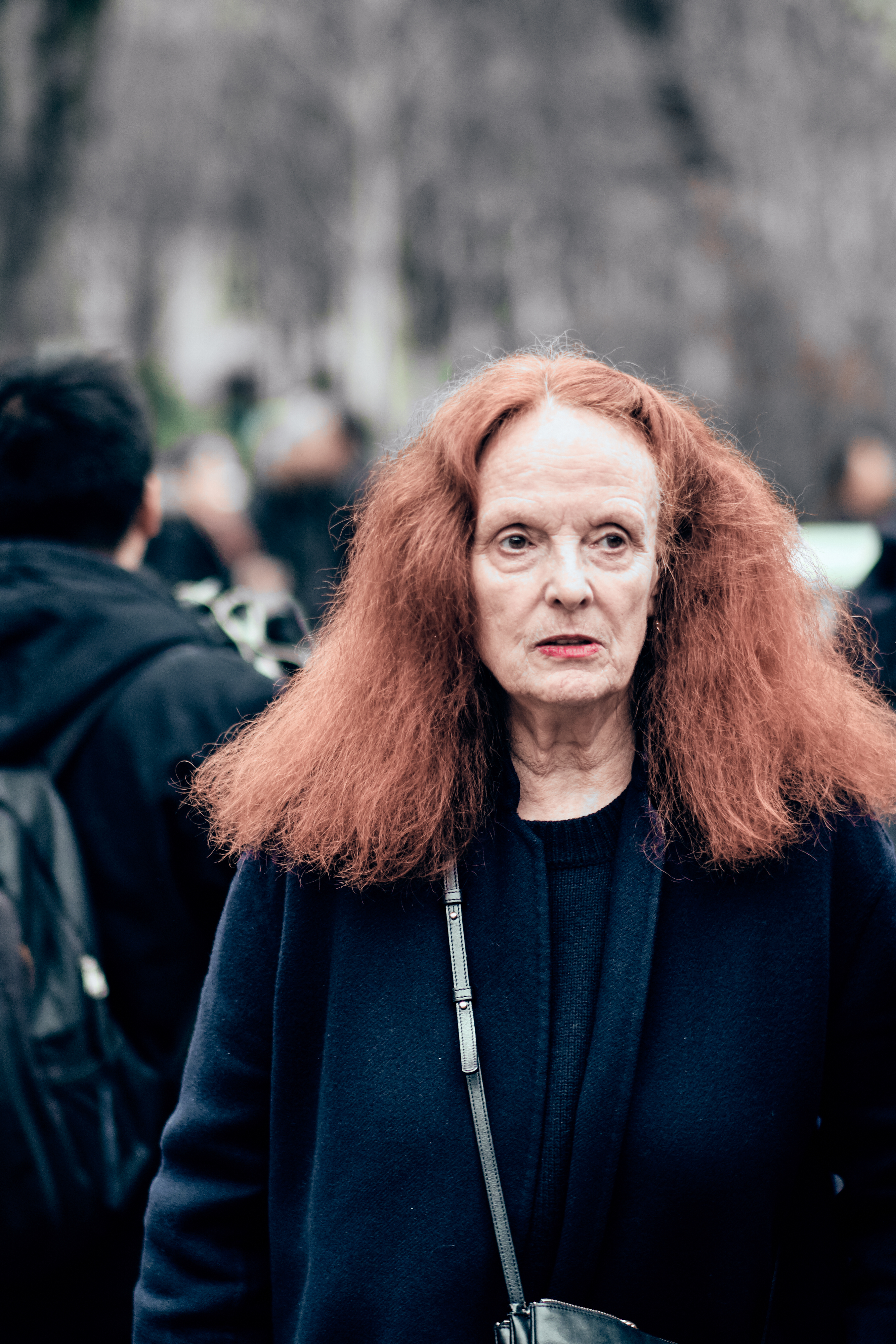 The 79-year old daughter of father (?) and mother(?) Grace Coddington in 2020 photo. Grace Coddington earned a million dollar salary - leaving the net worth at 50 million in 2020