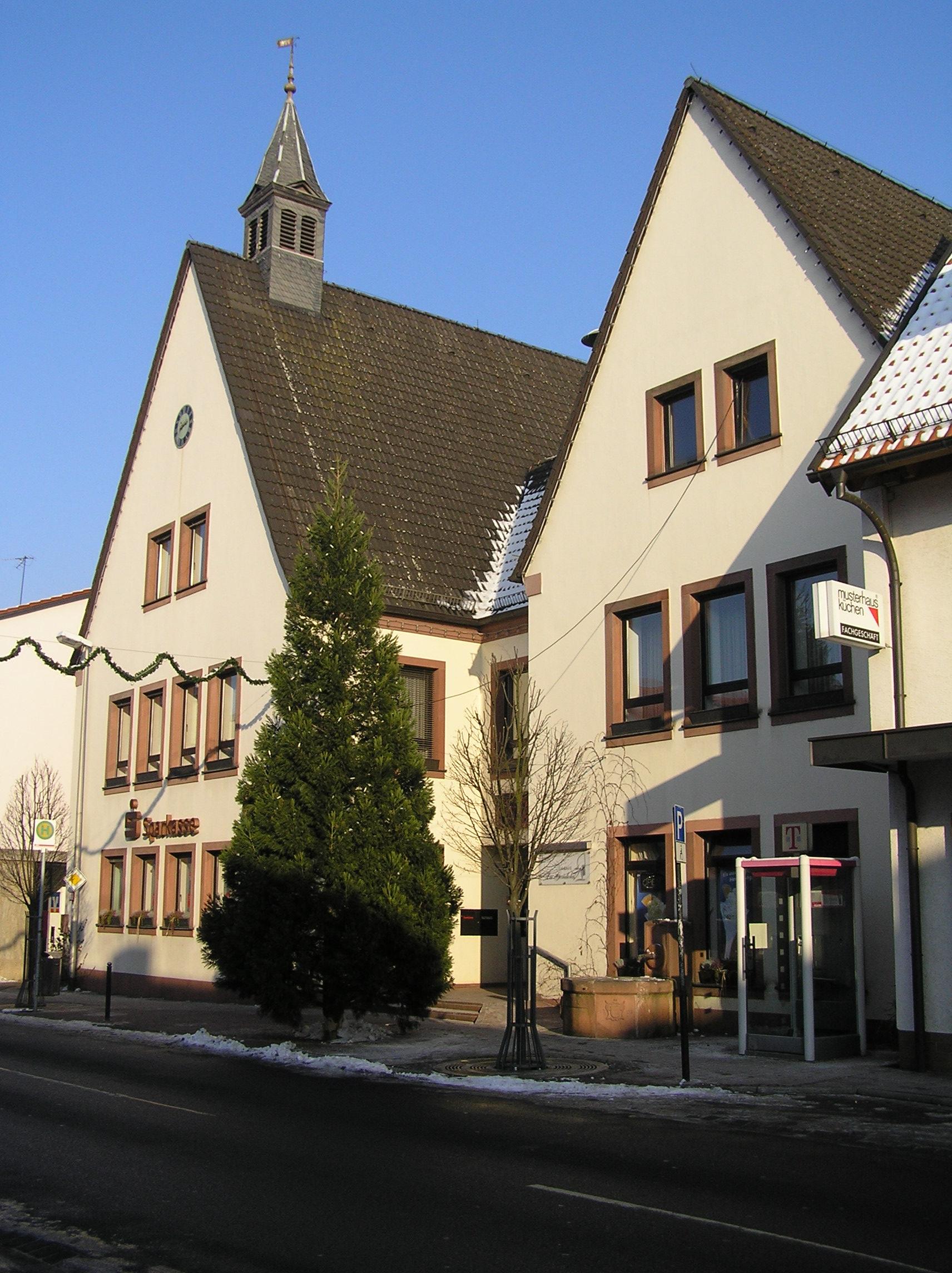 Datei Grosswallstadt Rathaus Jpg Wikipedia