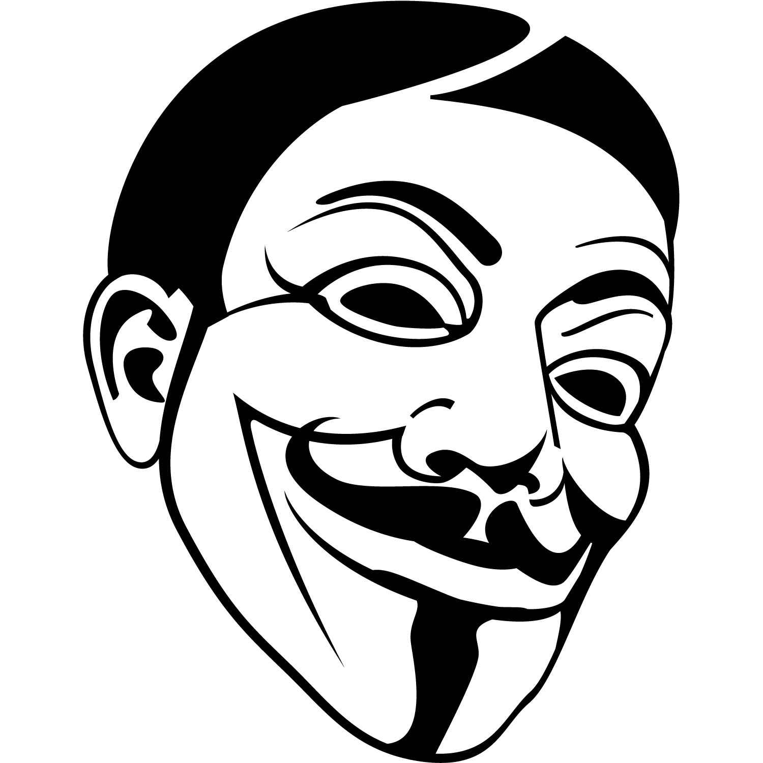File Guy Fawkes Mask Image likewise Nascar Logos Clip Art furthermore Free Vector Collections together with Nascar Clip Art Black And White moreover Illustrator Cartoon Face. on detailtest