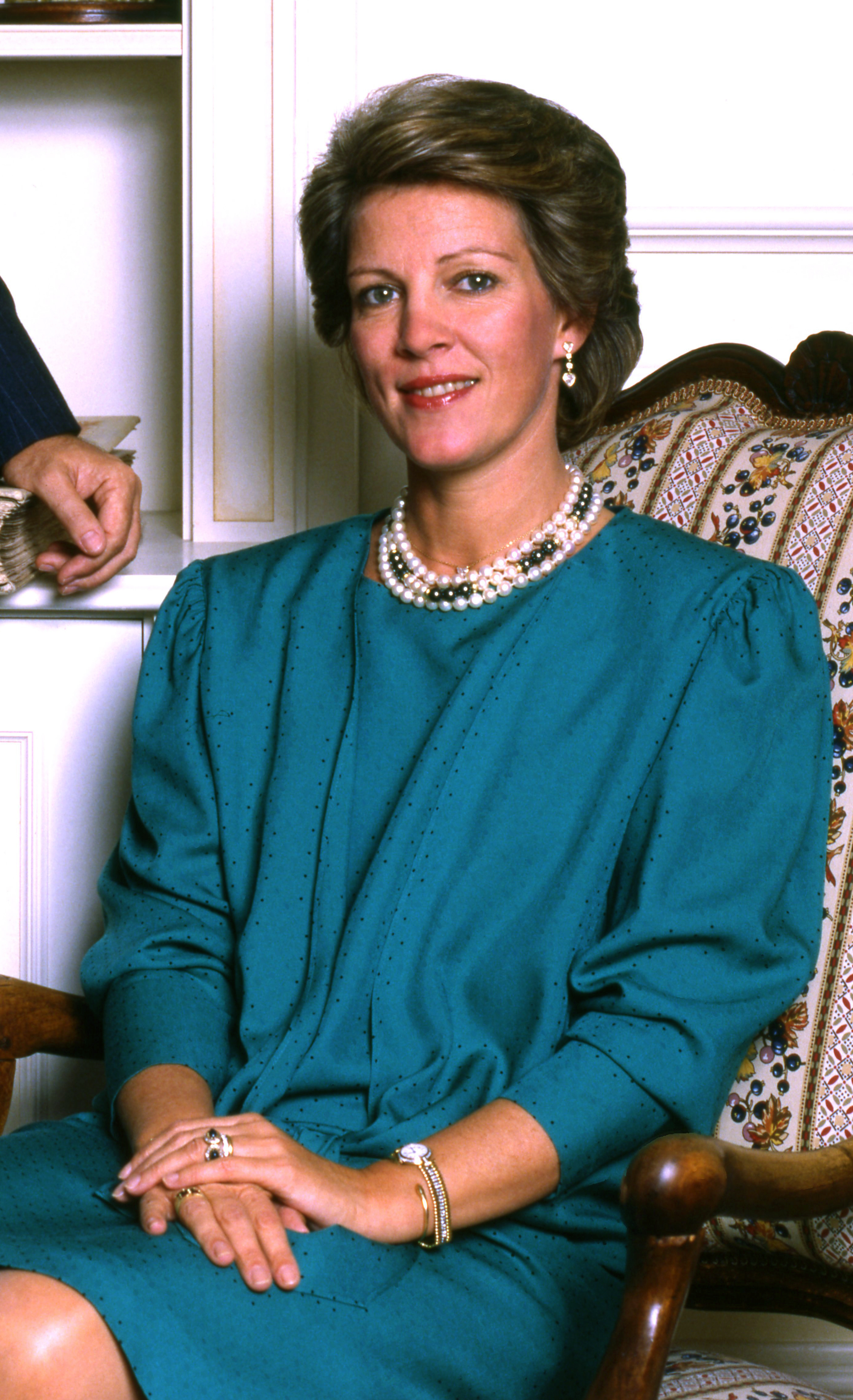 H.M. Queen Anne-Marie of Greece Allan Warren cropped.jpg