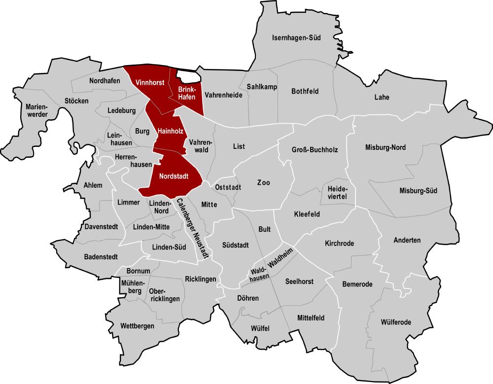 Hannover Stadtteile Kriminalität