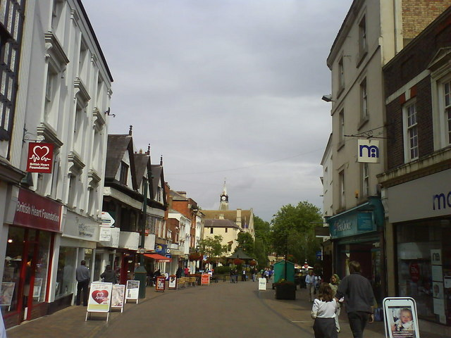 High Street in Banbury - geograph.org.uk - 1391520