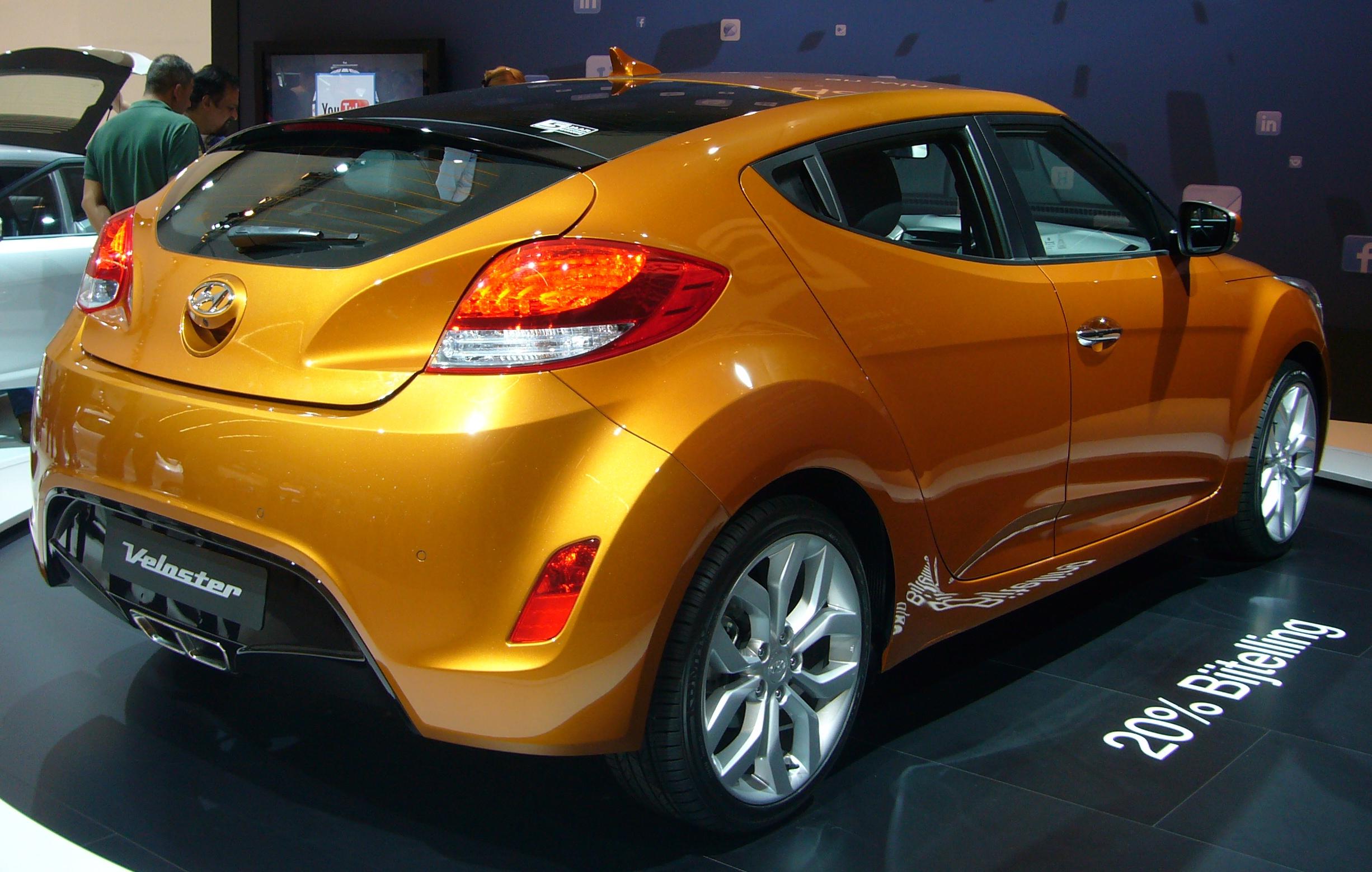 File:Hyundai Veloster (right rear quarter).jpg - Wikimedia Commons