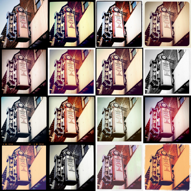 instagramové filtry