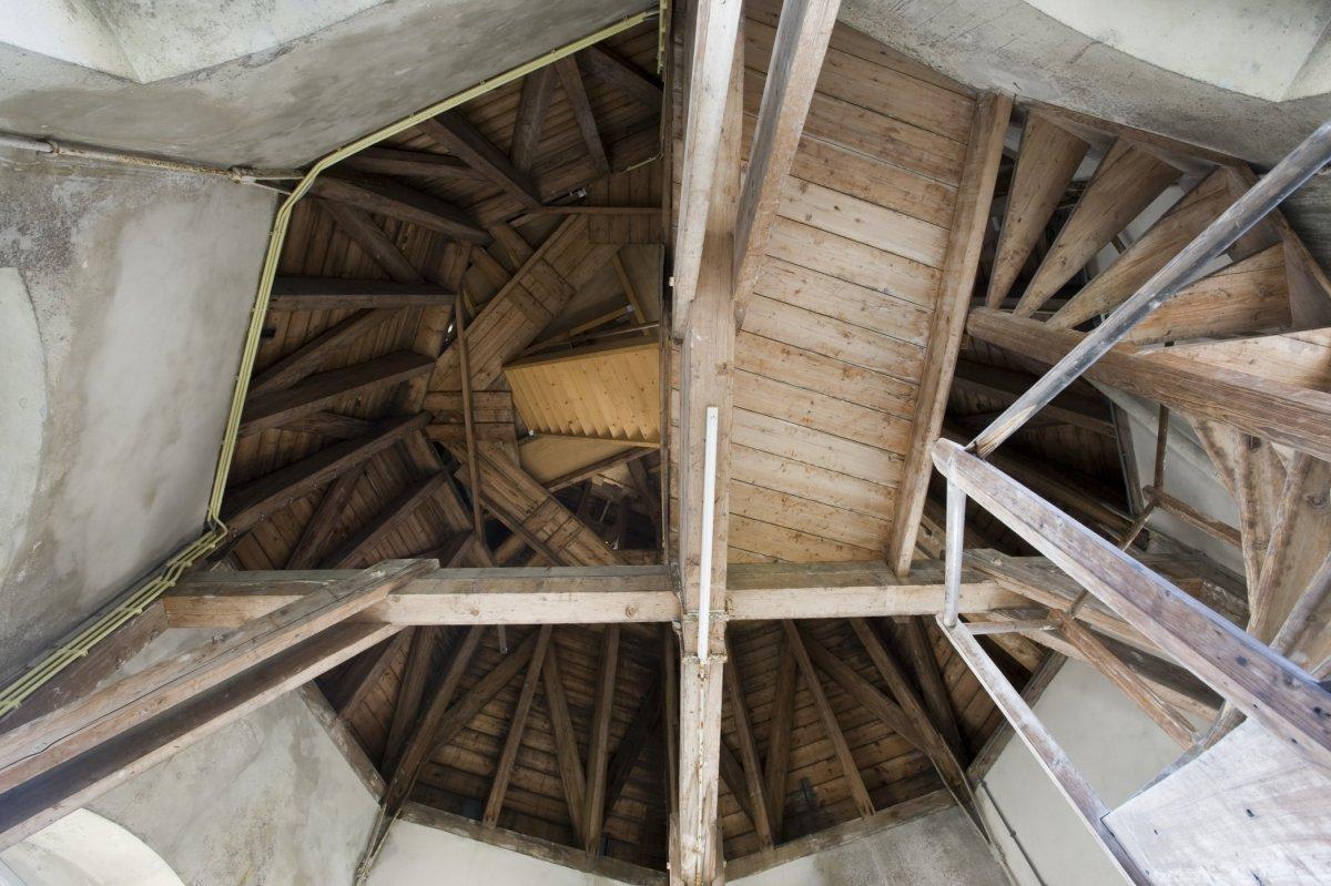 File interieur houten plafond in de toren groningen