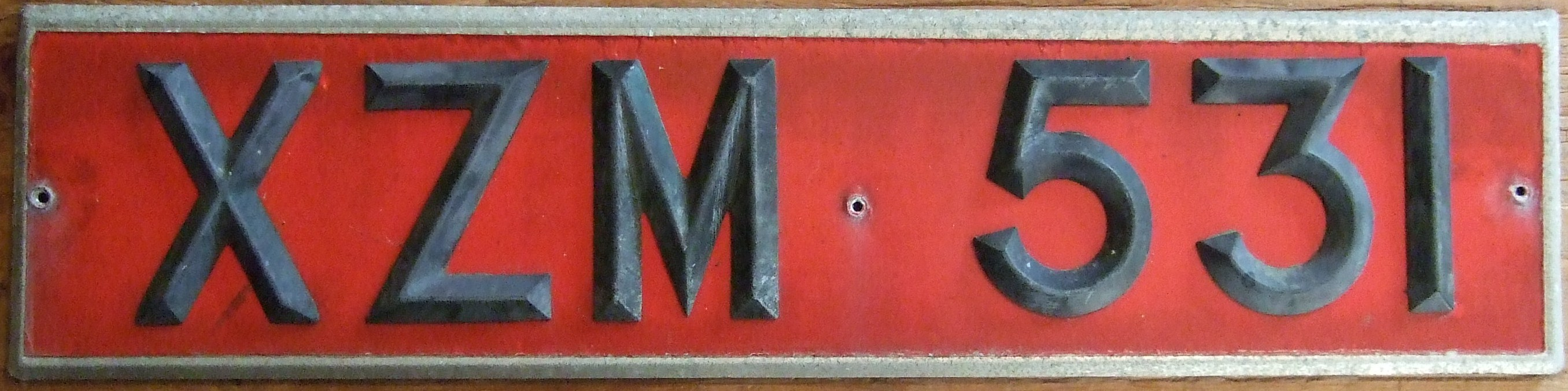 Fine Old Registration Plates Gift - Classic Cars Ideas - boiq.info