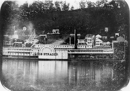 JACOB STRADER Steamboat - Original Image