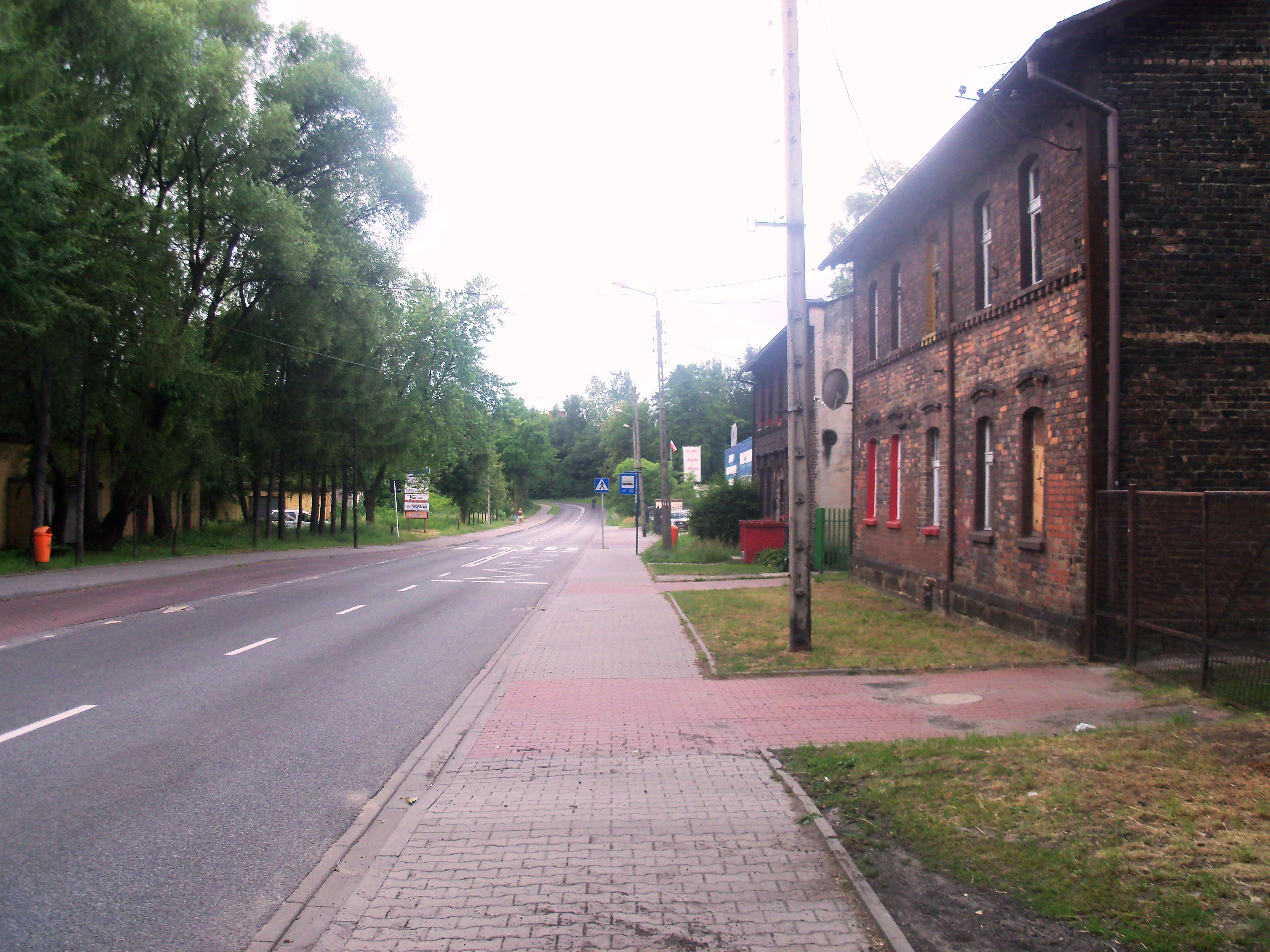 Ulica Teofila Ociepki w Katowicach