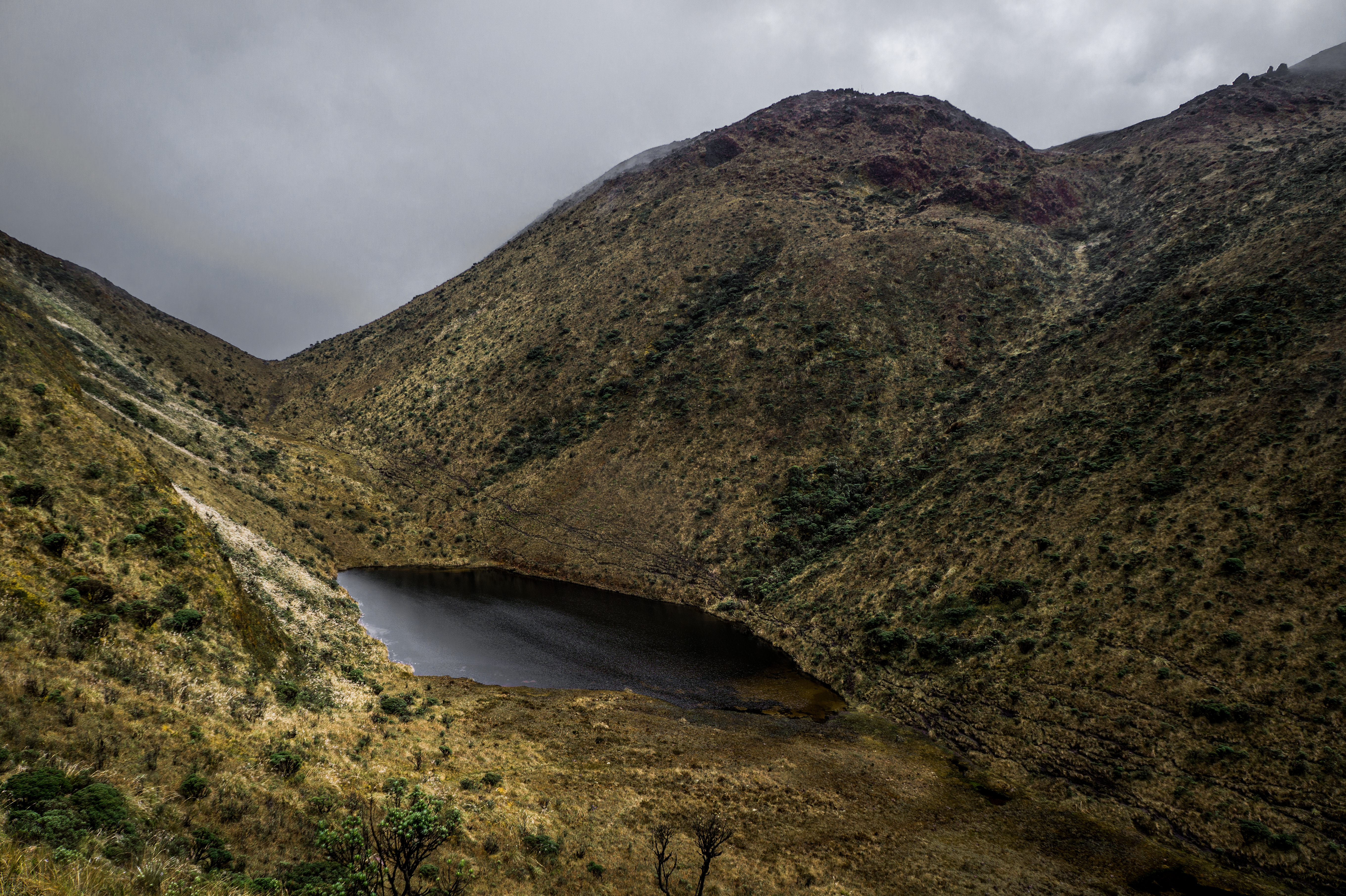 File:Laguna Negra - Volcan Azufral.jpg - Wikimedia Commons