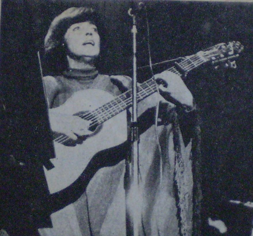 Leda Valladares en 1970.