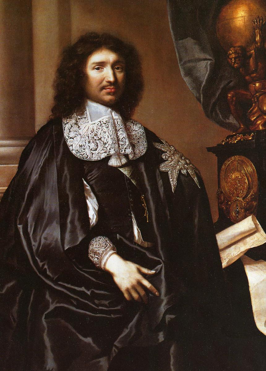 Jean-Baptiste Colbert.  Claude Lefèbvre (1632–1675).